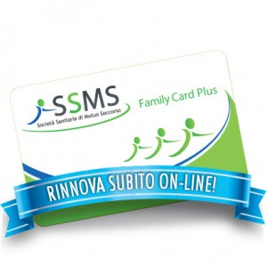 Rinnovo Family Card Plus SSMS Mutua Privata