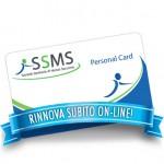 rinnovo personal card ssms mutua privata